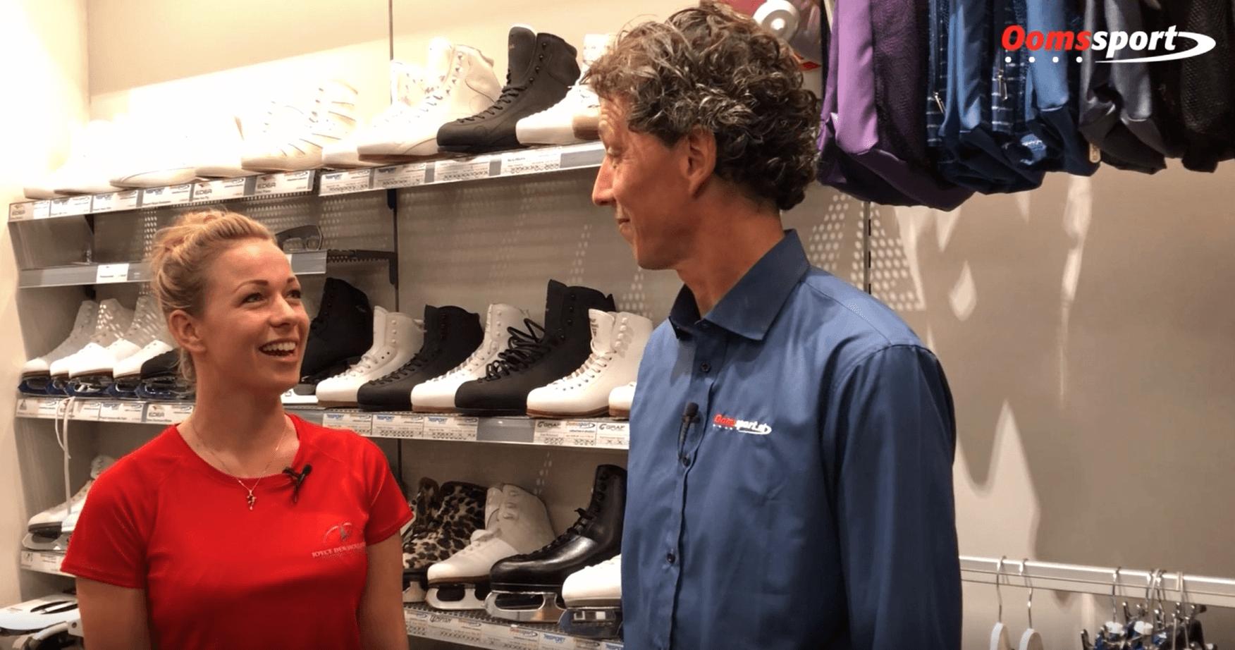 Video - Interview met 'Holiday on Ice' ster Joyce den Hollander