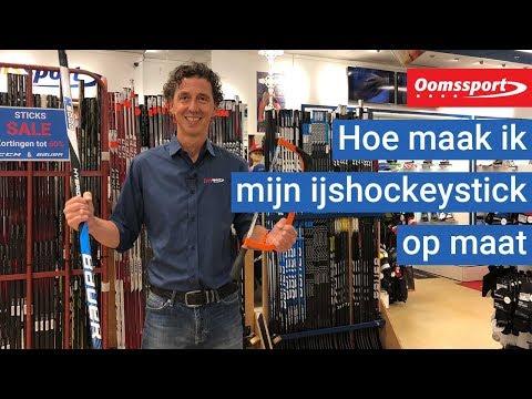 Oomssport - Hoe maak ik mijn ijshockeystick op maat?