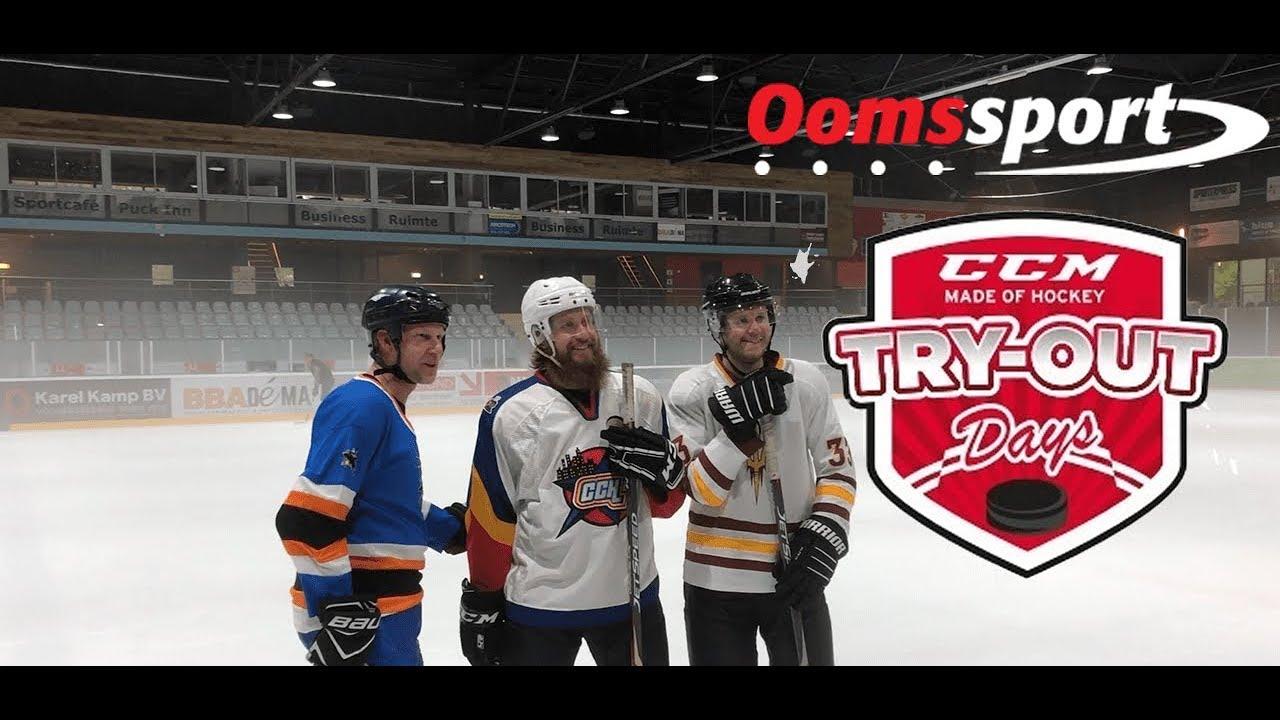Video - De CCM hockey try-out dagen op de Uithof