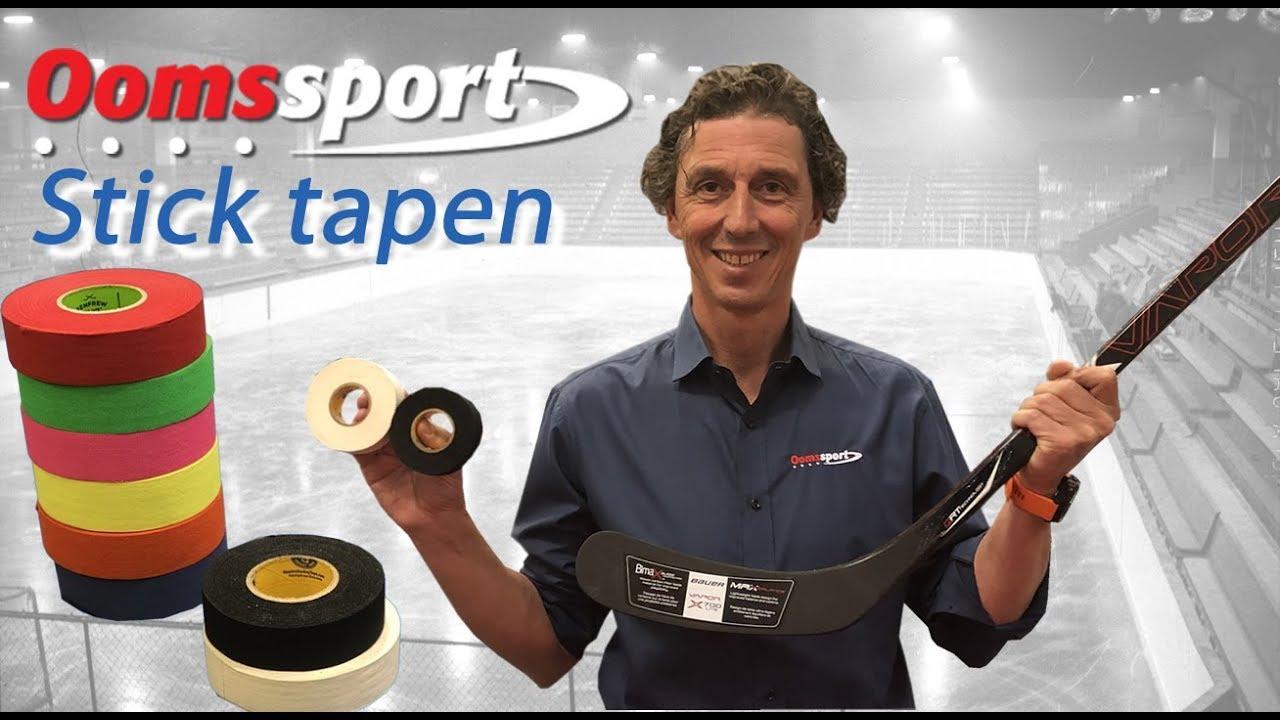 Video - Het blad van je hockey stick tapen