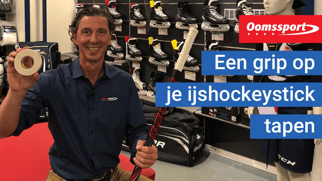 Video - Een grip op je ijshockey stick tapen